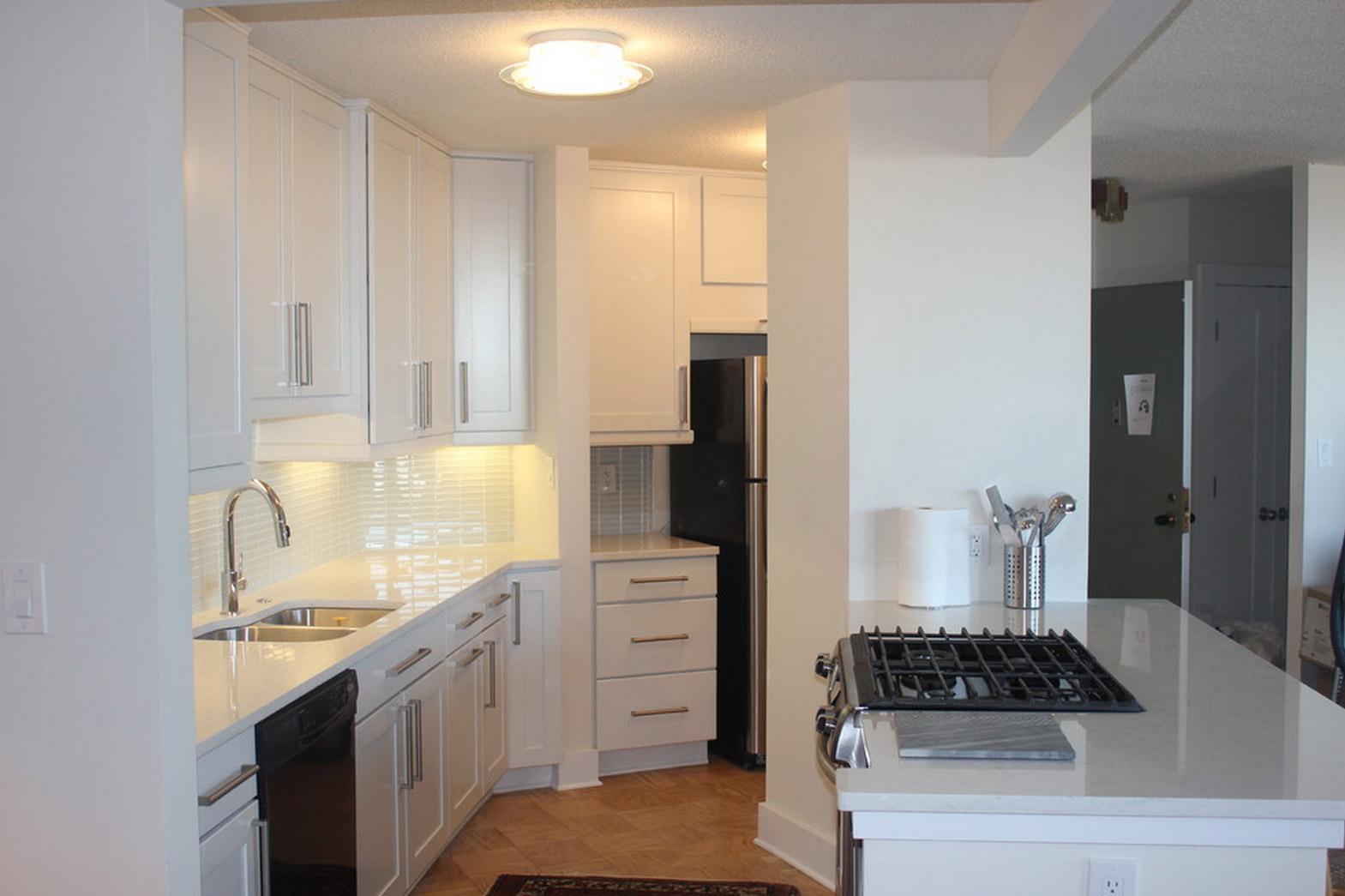 Photos From An Alexandria Condo Home Kitchen Remodel