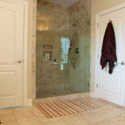 master bathroom in custom home fairfax VA