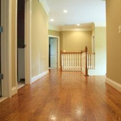 custom home fairfax VA upper hallway