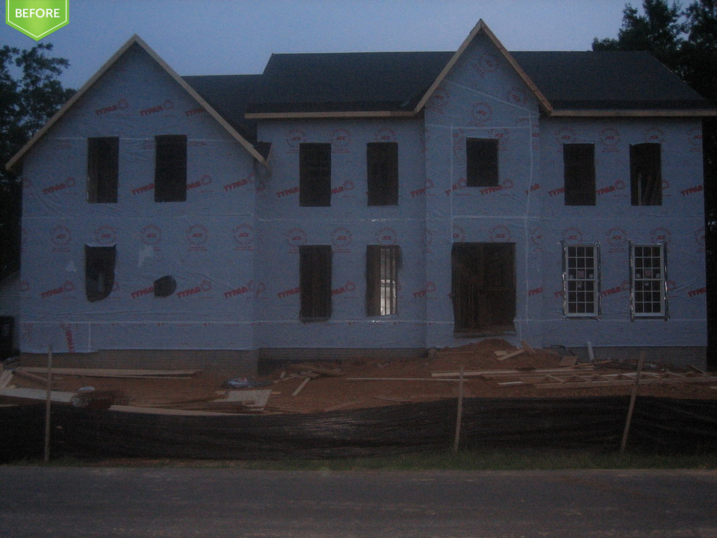 Photos of custom home in virginia for Custom homes of virginia