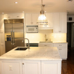Potomac, MD kitchen remodel with island