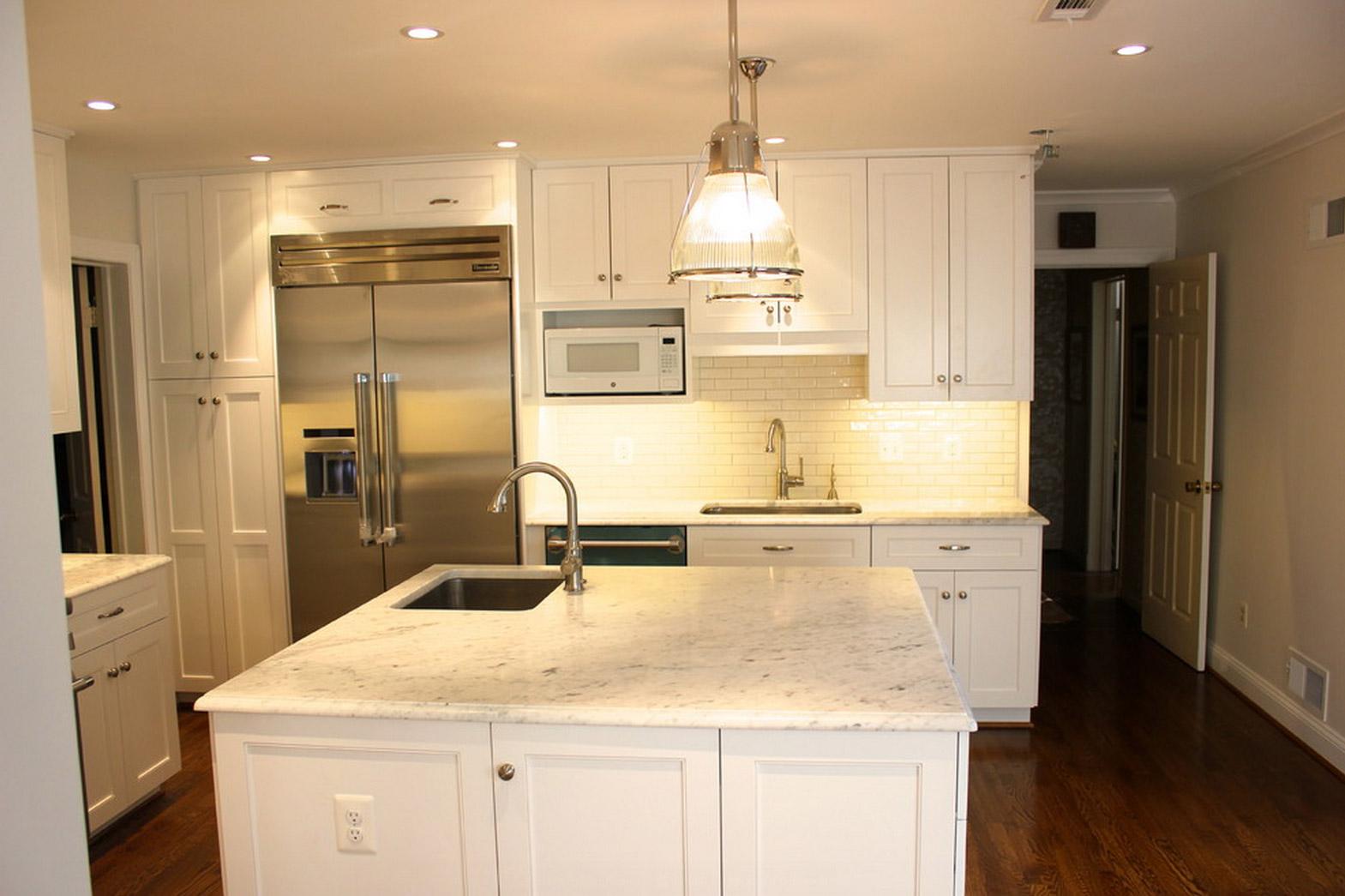 Gorgeous Kitchen Renovation In Potomac Maryland: Potomac MD Kitchen Remodel Photos