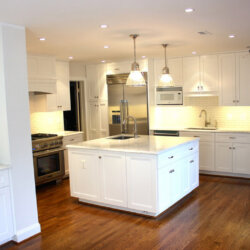 Remodeled kitchen in Potomac, MD