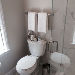 Remodeled bathroom in Arlington, Virginia