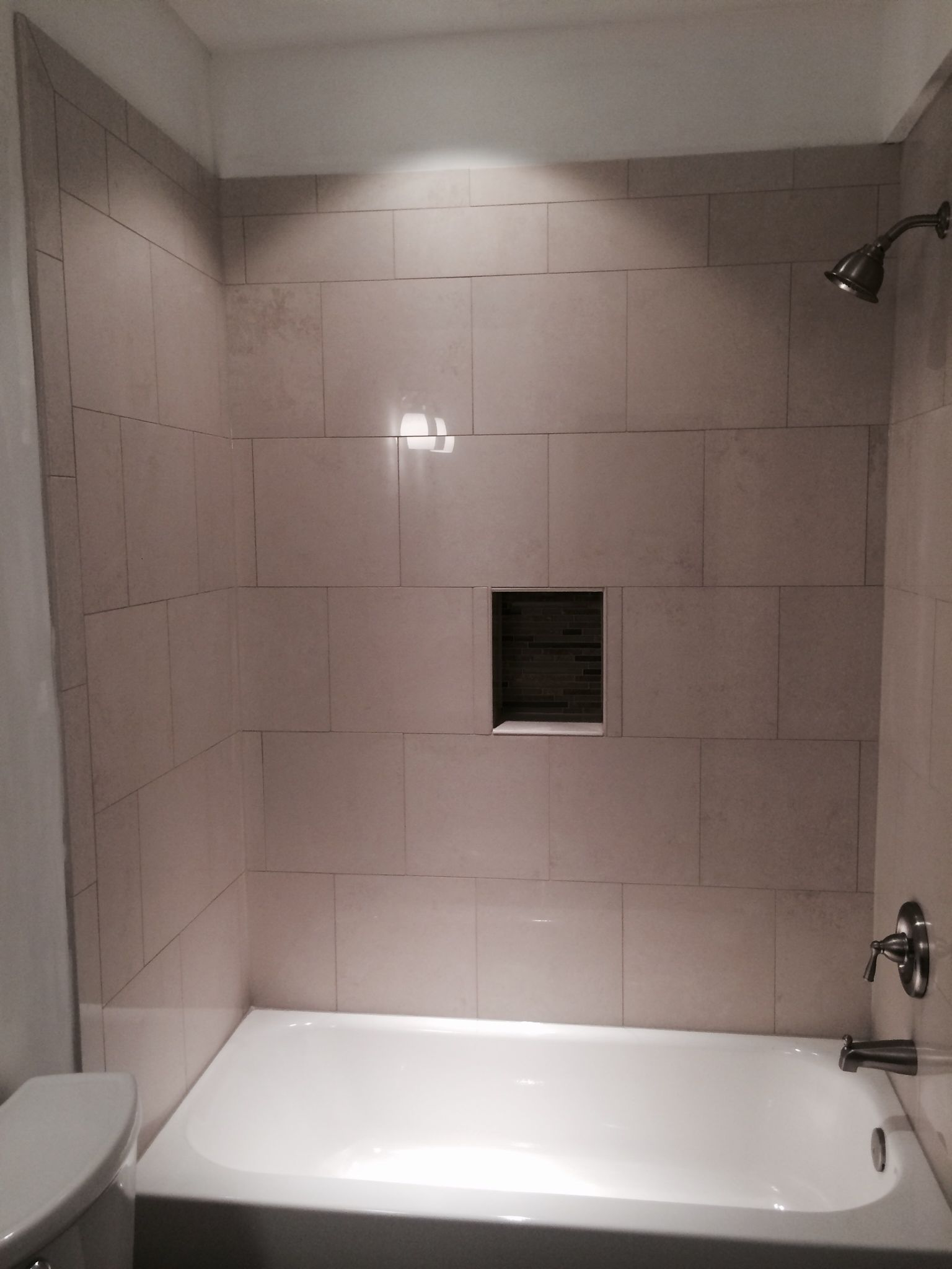 Photos Of Bathroom In Finished Basement In Fairfax VA