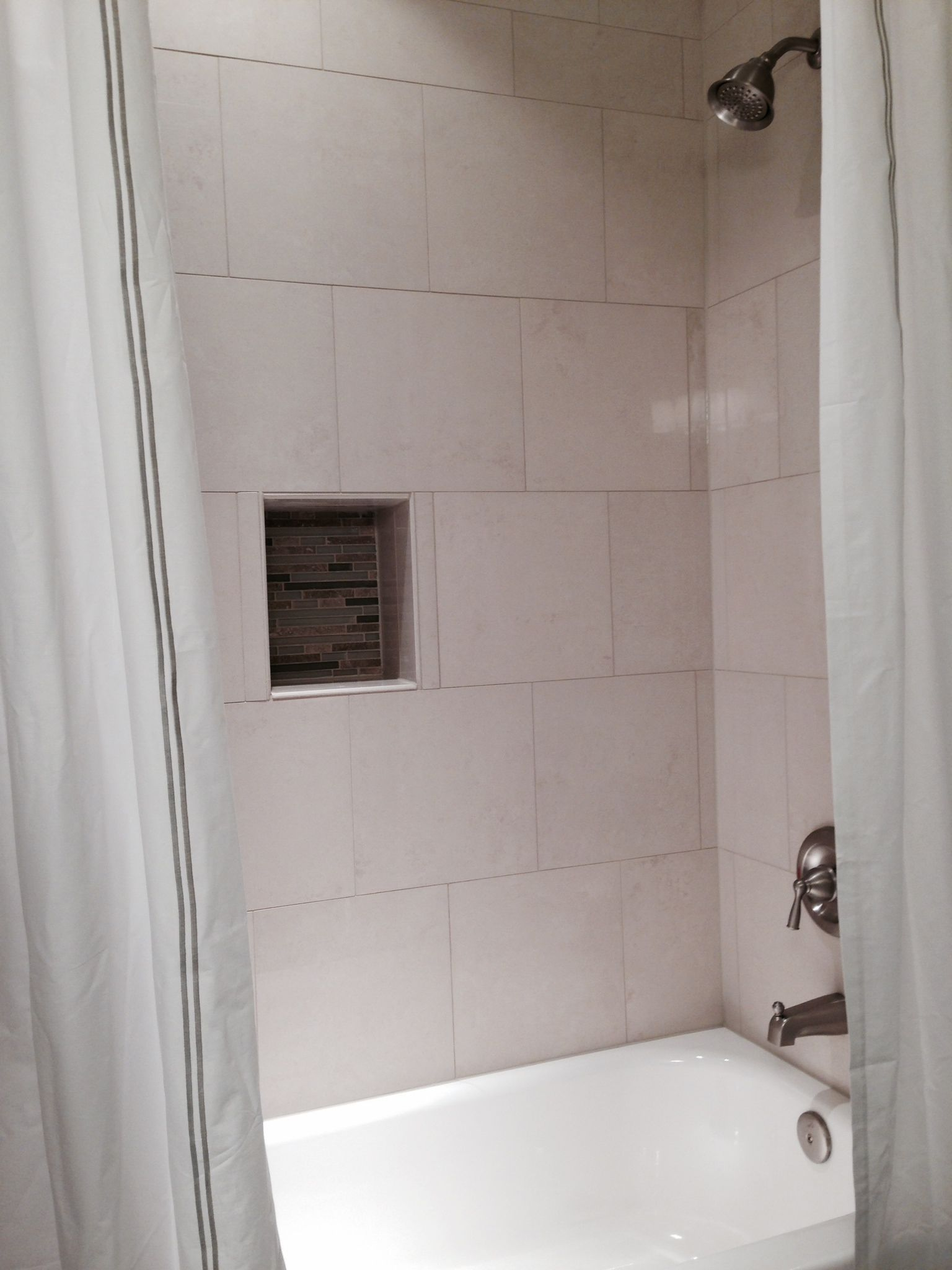 Photos of bathroom in finished basement in fairfax va for Bathroom remodel 3000