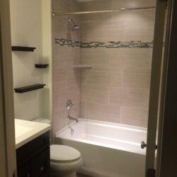 Remodeled bathroom in Ashburn, VA