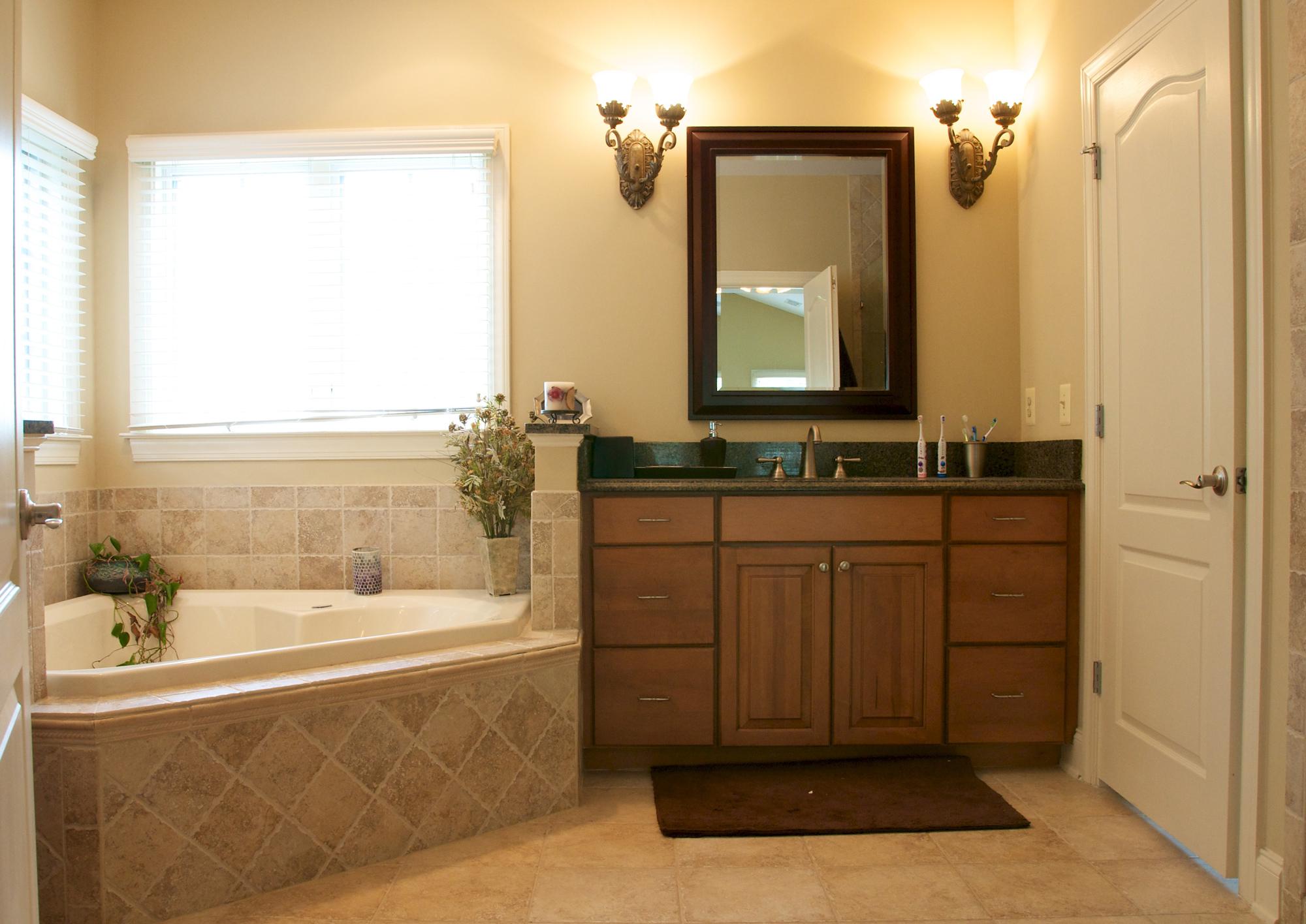 master bathroom in Loudoun VA