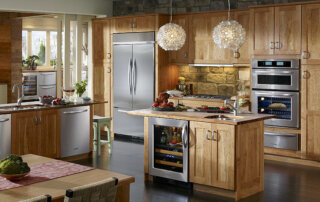 Kitchen remodeling with universal design features