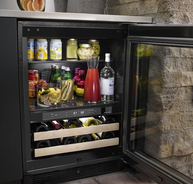 Kitchen remodeling ideas: Beverage center photo