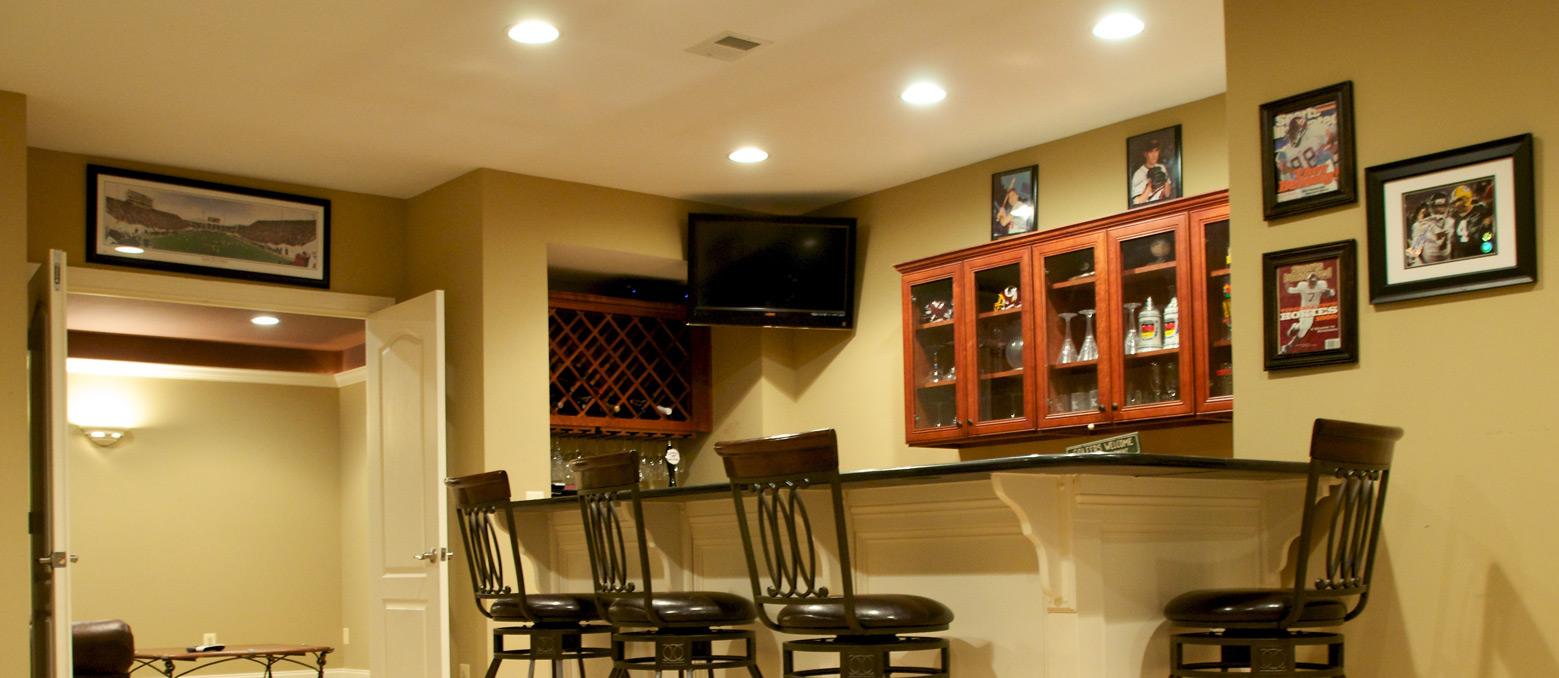 Finished basements free estimates northern va md dc for Finished basement cost estimator