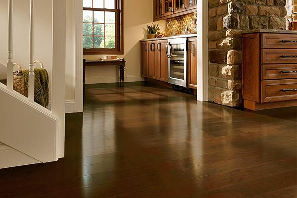 Engineered hardwood floor by Armstrong