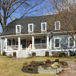 Front of remodeled home in Alexandria, VA