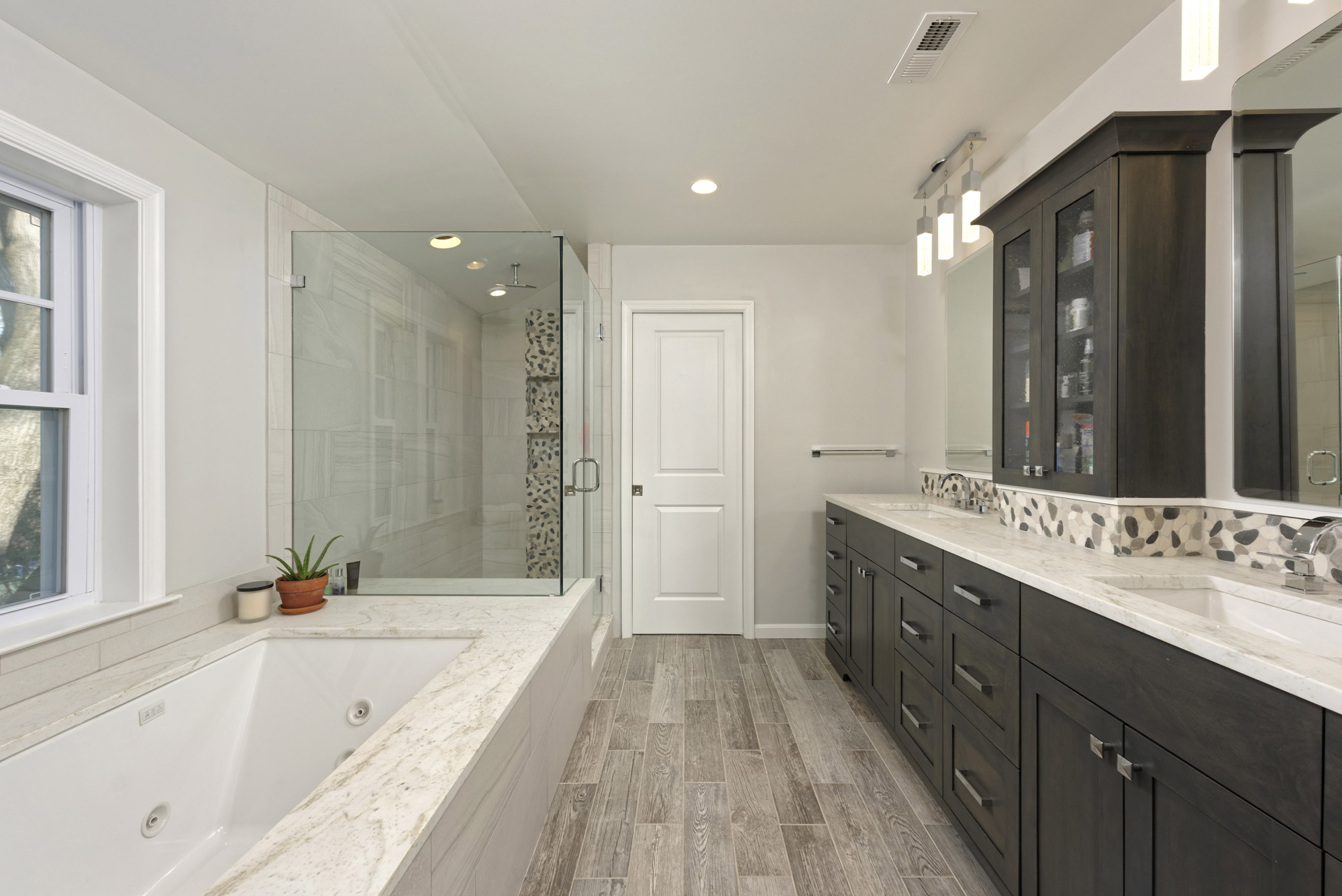 Beautiful Bathroom Remodels In An Alexandria VA Home - Bathroom renovation alexandria va