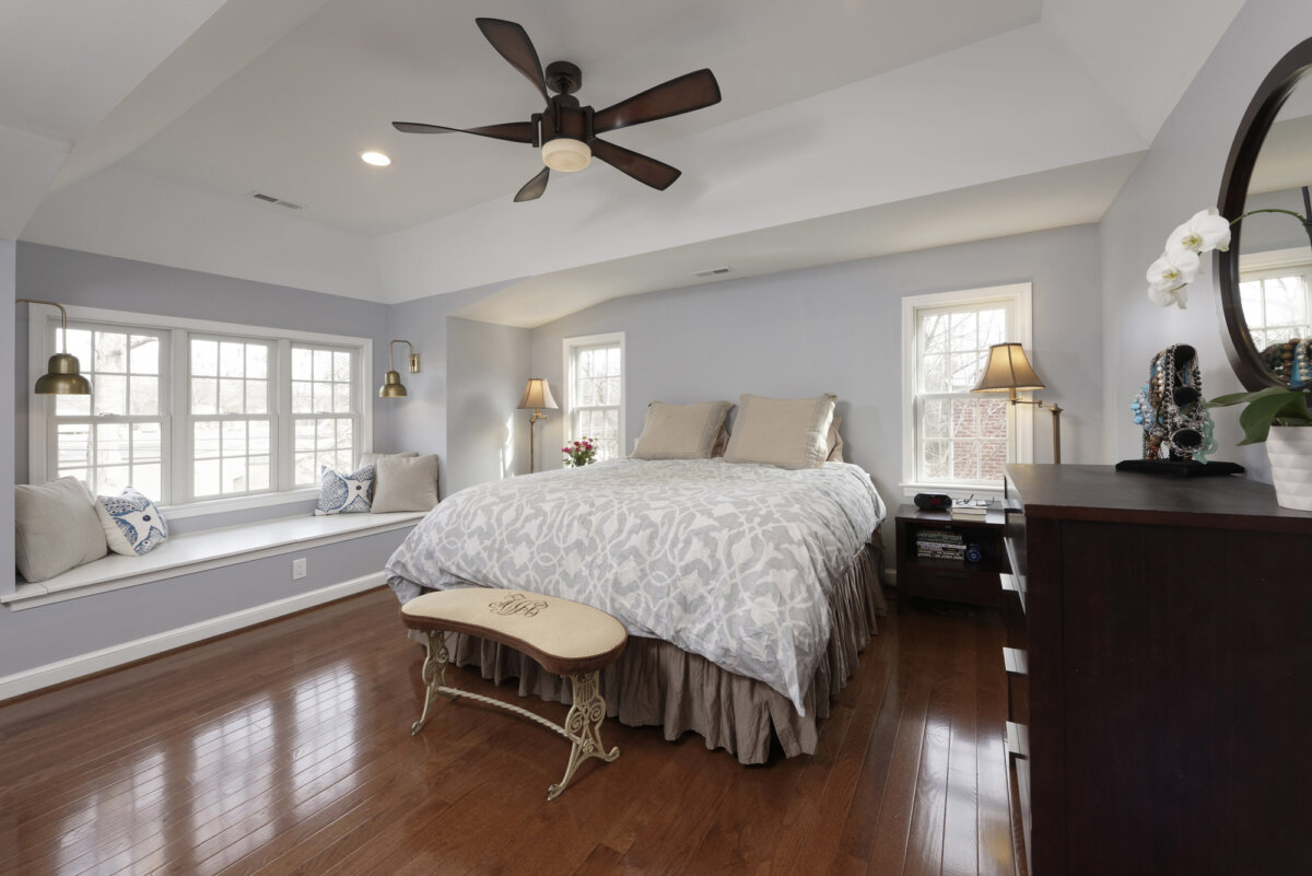 home addition master bedroom