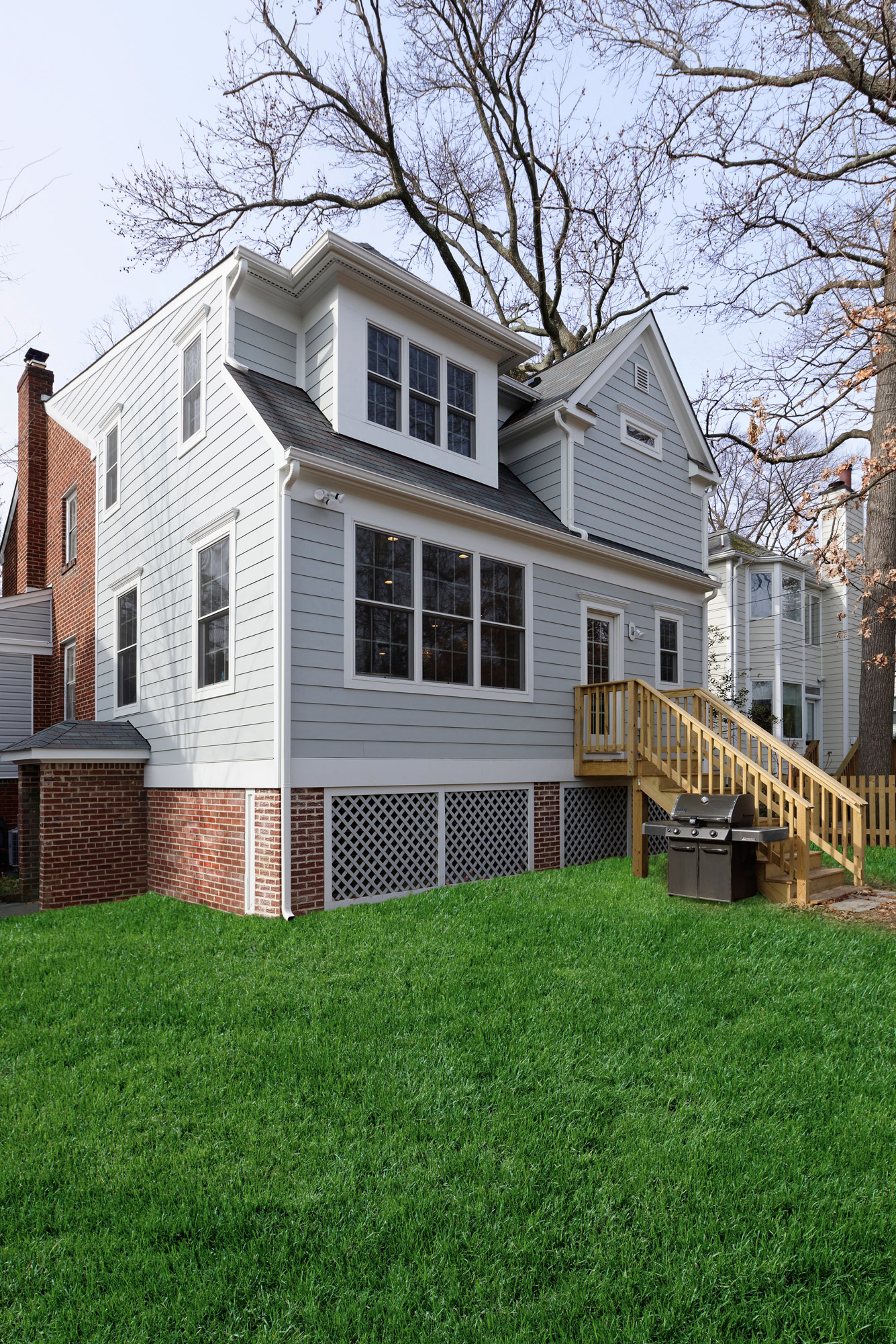 Two Story Rear Addition Arlington Va: Beautiful Home Addition In Alexandria By Metro Building & Remodeling Grp