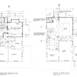 Floor plans for Alexandria home addition