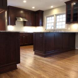 Remodeled Kitchen Dark Cabinets 11