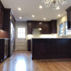 Remodeled Kitchen Dark Cabinets 2