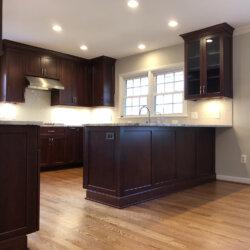 Remodeled Kitchen Dark Cabinets 6