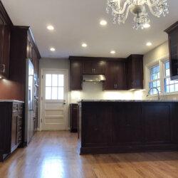 Remodeled Kitchen Dark Cabinets 5