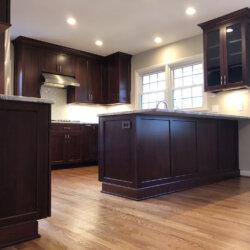 Remodeled Kitchen Dark Cabinets 3