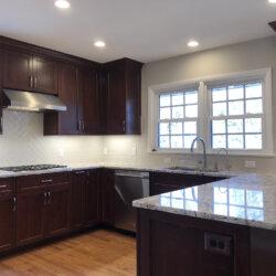 Remodeled Kitchen Dark Cabinets 7
