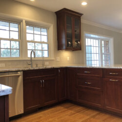 Remodeled Kitchen Dark Cabinets 10
