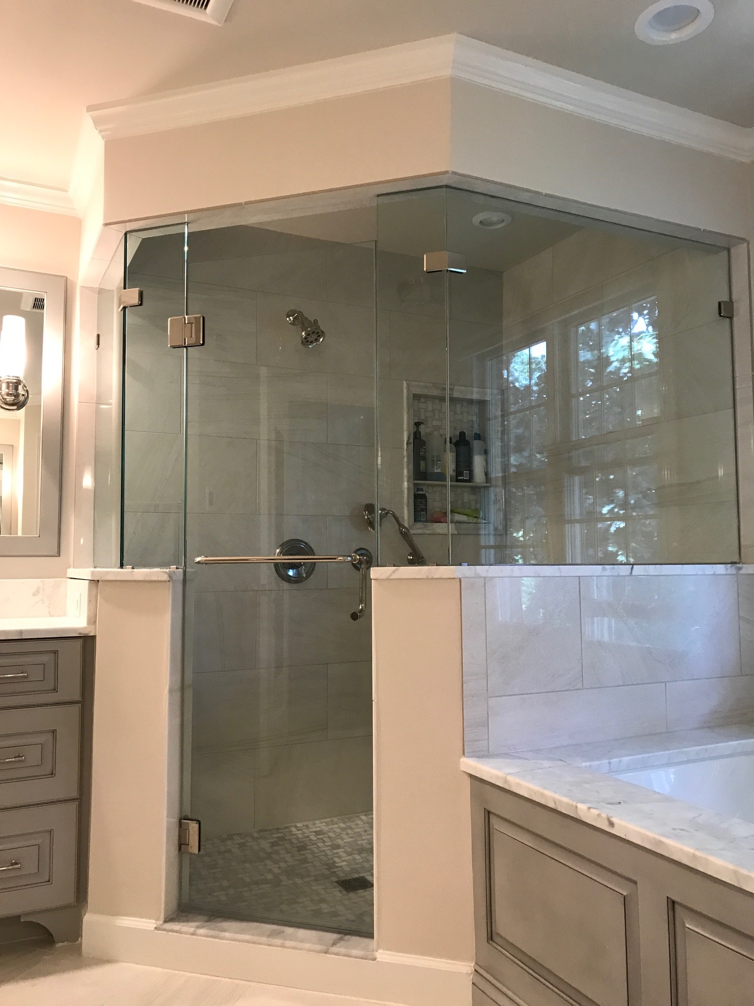 Photos Of Remodeled Master Bathroom In Arlington VA