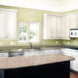 kitchen in custom home fairfax VA