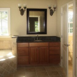 bath sink in custom home fairfax VA