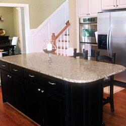 kitchen in custom home fairfax VA