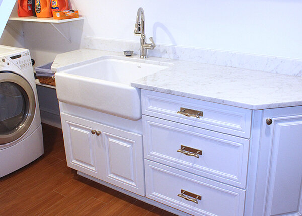 Adding plumbing for a laundry room when finishing a basement