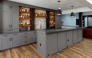 basement remodel full wet bar-2