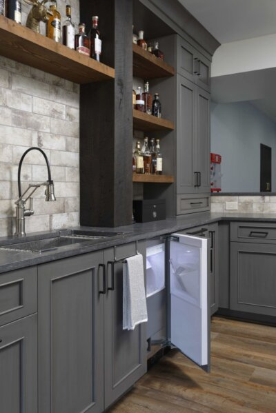 Finished Basement Wet Bar Ideas Metro Building Remodeling
