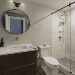 remodeled basement bathroom ashburn va