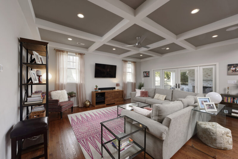 MBRG was the General Contractor for this den remodel in Northern Virginia