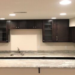 finished basement remodel & web bar fairfax va