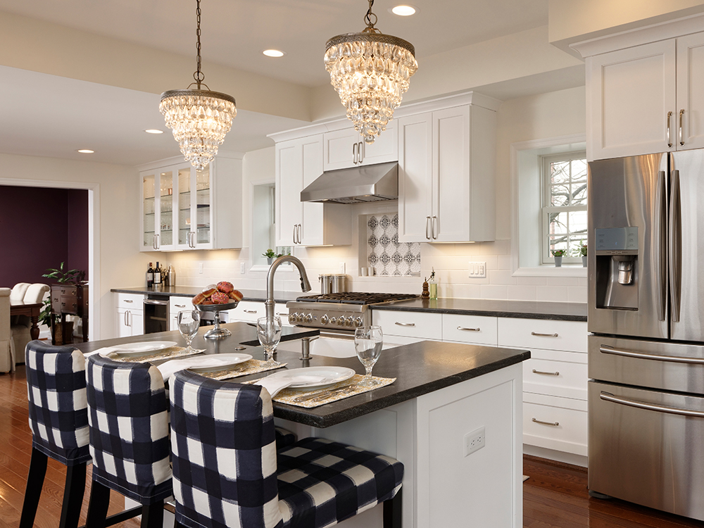 design build kitchen remodeled in fairfax