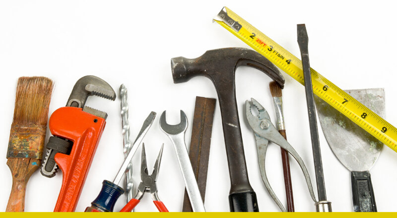 You don't need to buy any tools!