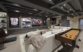 #1 most popular finished basement photo on houzz in 2019