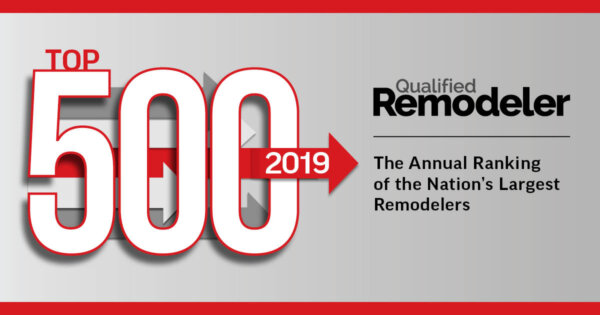 qualified Remodelers top 500 award