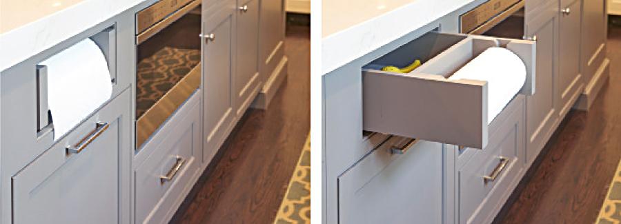 cabinet grey details