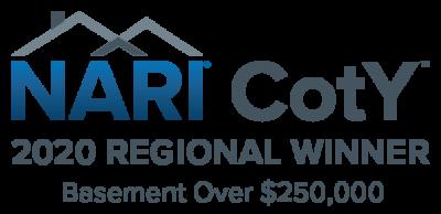 regional NARI CotY Winner Logo Basements