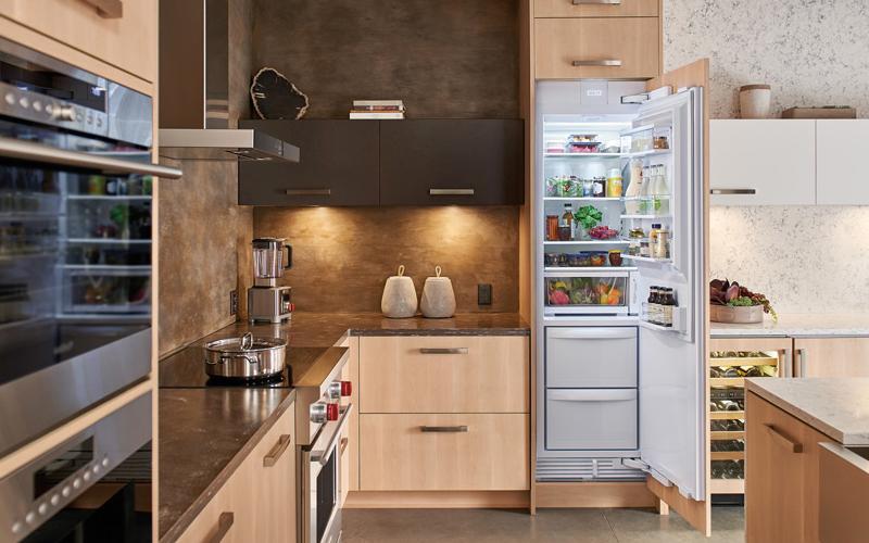 Column refrigerators by Sub-Zero