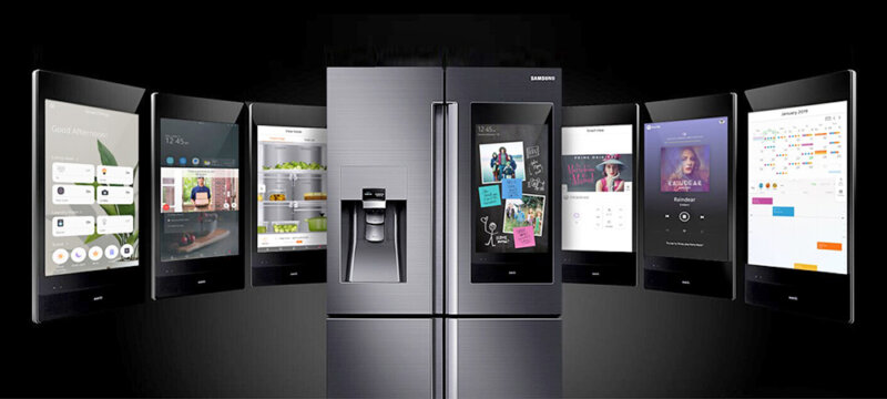 smart family hub refrigerator